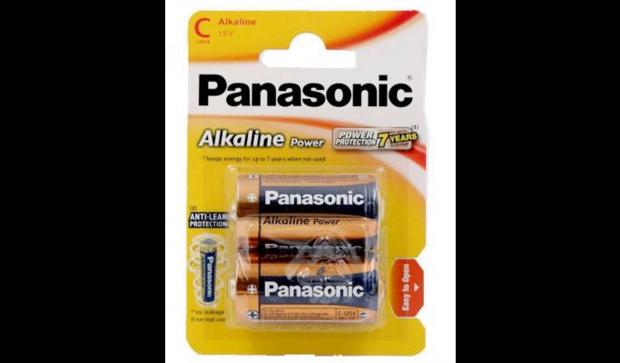 Pilhas Panasonic 2LR14 alk