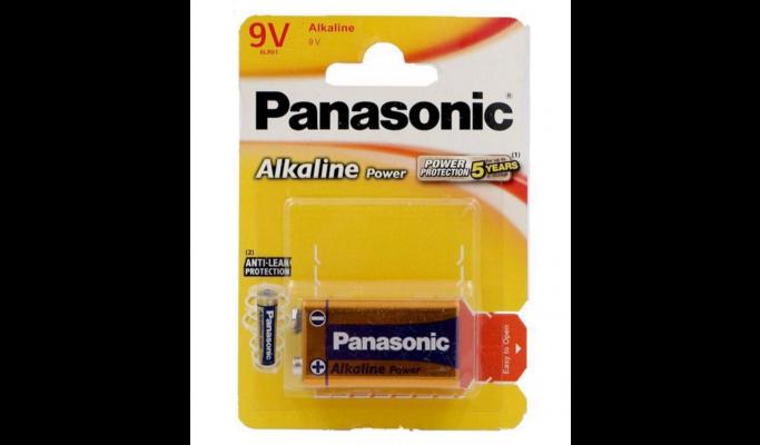 Pilhas Panasonic 6LR61 alk