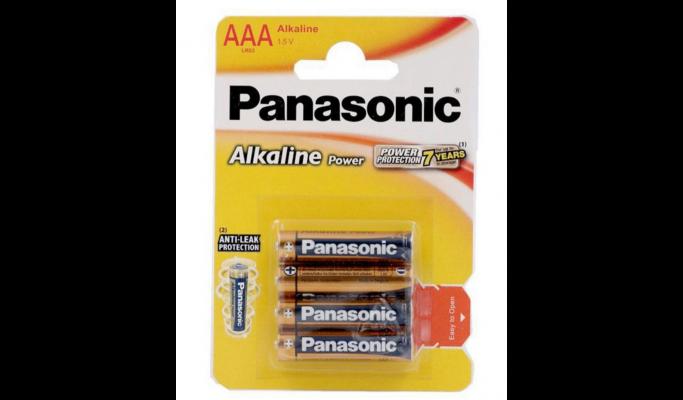 Pilhas Panasonic 4LR03 alk